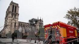 Vụ cháy Nhà thờ Đức Bà Paris: Pháp tri ân lực lượng cứu hỏa