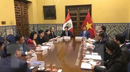 Đoàn Thành ủy Hà Nội thăm và làm việc tại Argentina, Peru