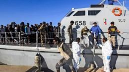 Hải quân Libya cứu hơn 200 người di cư trên biển