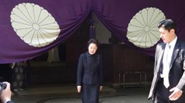 Quan chức Nhật tiếp tục viếng đền Yasukuni bất chấp chỉ trích