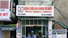 Kết luận ban đầu về hai bệnh nhân tử vong ở bệnh viện Trí Đức