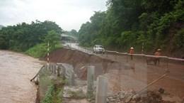 Đã có 10 người chết và 2 người mất tích vì mưa lũ sau bão số 4