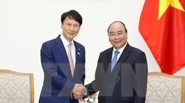 Thủ tướng tiếp Thống đốc tỉnh Kagoshima của Nhật Bản