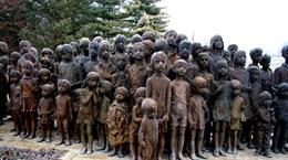 Những bức tượng trẻ em đánh dấu một ký ức đau thương của CH Séc