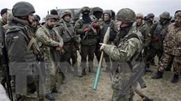 Lệnh ngừng bắn tại miền Đông Ukraine vẫn được duy trì