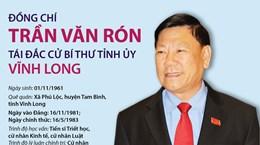 Tiểu sử hoạt động của Bí thư Tỉnh ủy Vĩnh Long Trần Văn Rón