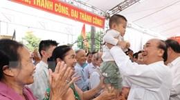 Thủ tướng dự Ngày hội Đại đoàn kết toàn dân tộc tại Hải Dương