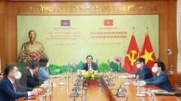 Việt Nam-Campuchia chia sẻ kinh nghiệm về công tác tuyên truyền