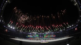 Chùm ảnh lễ bế mạc SEA Games 27