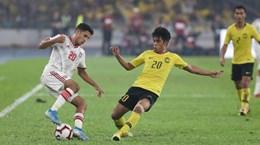 Thua ngược UAE, Malaysia mất ngôi đầu vào tay Thái Lan