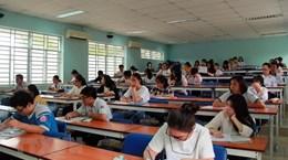 Điểm chuẩn xét tuyển bằng kết quả thi đánh giá năng lực giảm