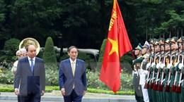 Truyền thông Nhật đưa đậm nét chuyến thăm Việt Nam của Thủ tướng Suga