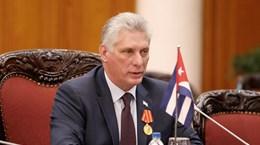 Chủ tịch Cuba mong muốn xây dựng mối quan hệ mang tính xây dựng với Mỹ