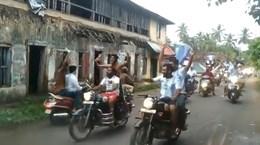 CĐV Ấn Độ đổ ra đường ăn mừng Argentina vô địch Copa America