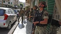 Nổ súng tại thủ đô của Liban, khiến nhiều người thương vong