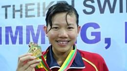 """Ánh Viên nhận giải """"Ấn tượng vàng SEA Games 27"""""""