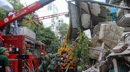 Nhìn lại những vụ sập nhà xảy ra trên địa bàn Hà Nội thời gian qua