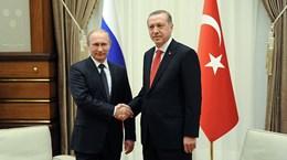 Ông Putin sẽ gặp Tổng thống Thổ Nhĩ Kỳ vào ngày 10/10