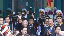 Ga Đồng Đăng đã đón, tiễn tàu bọc thép của ông Kim Jong-un ra sao?