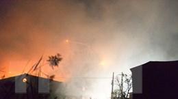 Vụ nổ mới nhất ở Thiên Tân: Kho chứa hóa chất không có giấy phép