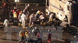 Vụ đánh bom ở Thổ Nhĩ Kỳ: Gần 600 người bị bắt giữ