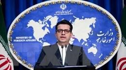 Iran hoan nghênh mọi nỗ lực giúp giảm căng thẳng với Saudi Arabia