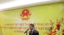 Trang trọng và ấm áp Lễ kỷ niệm 75 năm Quốc khánh 2/9 tại Malaysia