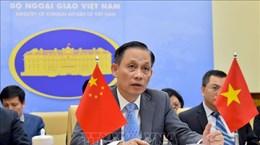 Thứ trưởng Bộ Ngoại giao Lê Hoài Trung chúc mừng Quốc khánh Trung Quốc