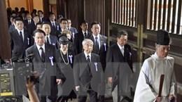 Hàn Quốc-Trung Quốc phản đối lãnh đạo Nhật Bản viếng đền Yasukuni