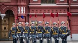 [Video] Tuần hành kỷ niệm Cách mạng Tháng Mười Nga ở Moskva