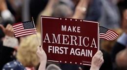 Câu thần chú 'Nước Mỹ trước tiên' và quản trị kinh tế toàn cầu