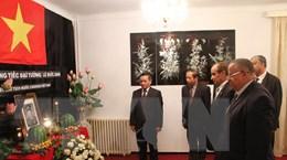 Mở sổ tang nguyên Chủ tịch nước Lê Đức Anh ở Algeria và Saudi Arabia