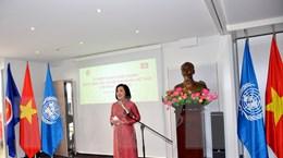 Cơ quan đại diện Ngoại giao Việt Nam tại Geneva gặp gỡ bà con kiều bào