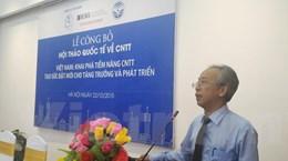 Sẽ công bố lộ trình hướng tới 10 thành phố thông minh của Việt Nam