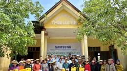 Samsung Việt Nam ủng hộ 5 tỷ đồng giúp miền Trung vượt qua lũ lụt