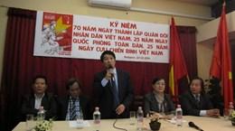 Cộng đồng người Việt tại Hungary tổ chức kỷ niệm ngày 22/12