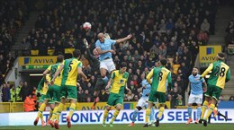 Pellegrini vẫn tin Man City sẽ vô địch sau trận hòa Norwich