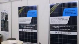 Pin năng lượng mặt trời Hàn Quốc được trình làng tại TP. HCM