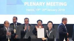 Quan hệ đối tác nghị viện: Vì hòa bình, sáng tạo, phát triển bền vững
