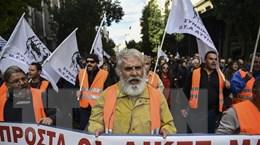 Đình công lớn tại Hy Lạp yêu cầu chính phủ tăng lương và lương hưu