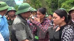 Trưởng ban Tổ chức Trung ương thăm hỏi, động viên người dân bản Sa Ná