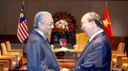 Thủ tướng Malaysia kết thúc chuyến thăm chính thức Việt Nam