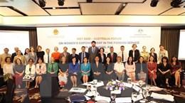 Tuyên bố chung Diễn đàn Việt Nam-Australia về nâng cao vai trò phụ nữ