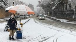 Mưa tuyết hoành hành ở Pakistan khiến 26 người thiệt mạng