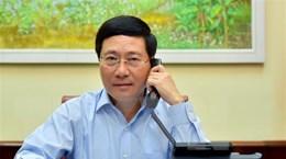 Việt Nam sẵn sàng hợp tác, chia sẻ thông tin đẩy lùi dịch với Estonia