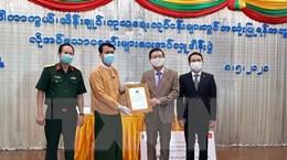 Cộng đồng người Việt tại Myanmar ủng hộ Vùng Yangon chống COVID-19