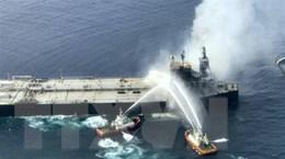 Sri Lanka đã dập tắt đám cháy trên tàu chở 2 triệu thùng dầu