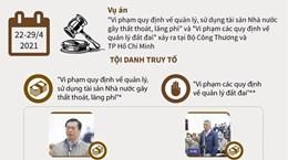 [Infographics] Cựu Bộ trưởng Vũ Huy Hoàng bị phạt 11 năm tù