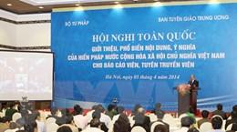 Triển khai đồng bộ các biện pháp thi hành Hiến pháp năm 2013