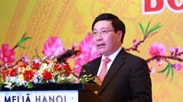 Phó Thủ tướng gặp mặt đoàn Ngoại giao nhân dịp Tết Mậu Thân 2018